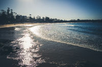 Manly Beach at sunset, Sydney, Australia