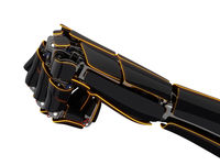 3D rendering robotic hand