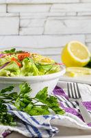 Delicious vegetable salad
