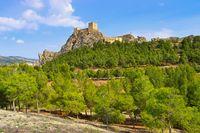 Sax, Castillo de Sax, eine Burg in der Province Alicante, Spanien - Sax, Castillo de Sax, castle in Province of Alicante, Spain
