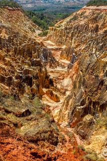 Ankarokaroka canyon Ankarafantsika, Madagascar