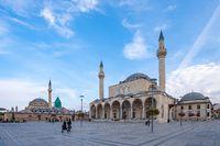 Selimiye Mosque and Mevlana Museum in Konya, Turkey
