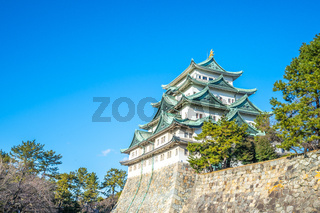 Nagoya Castle landmark in Nagoya, Japan