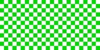 Green checkerboard background