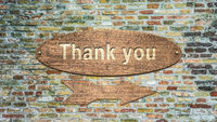 Street Sign Thank You