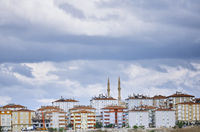 Residential buildings in Istanbul province