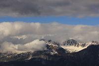Mount Aroser Rothorn in early summer.