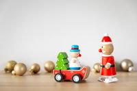 Christmas decoration sweet funny toy figures