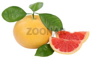 Grapefruit Frucht Freisteller freigestellt isoliert