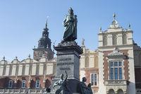 Monument of Adam Mickiewicz, Krakow