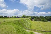 Slawische Ringwallange in Oldenburg in Holstein