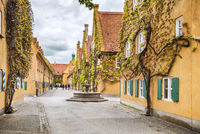 World oldest social housing in Augsburg, Germany