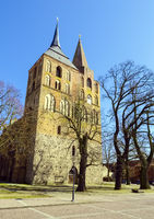 Kirche St. Marien, Gransee, Brandenburg, Deutschland