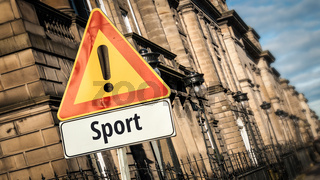 Street Sign to Sport