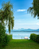 privater Zugang zum Chiemsee