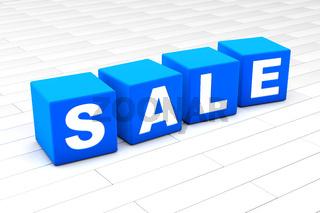 Sale word illustration