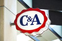 C&A fashion chain store logo