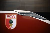 Mannschaftsbus FC Augsburg