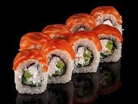 Several sushi rolls Philadelphia