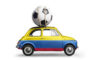 Colombia football car