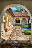 Courtyard of Monastery
