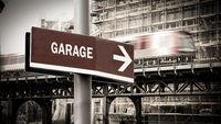 Street Sign to Garage