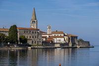 Porec, Altstadt mit der Euphrasius Basilika