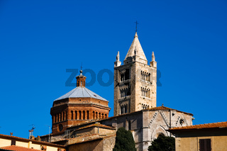 Massa Marittima is an old town in center Italy
