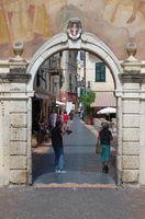 Stadttor Noli - Ligurien - Italien