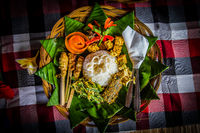 Traditional Balinese Meal