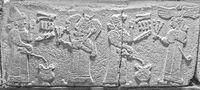 Wall Frieze Neo Hittites Ankara Turkey
