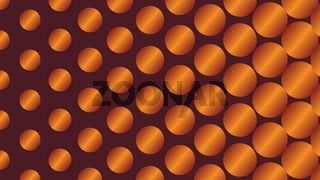 Polka Dot Pop Art Creative Design, Vector Illustration, Metallic Abstract Background