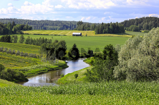 River Valley in Finland