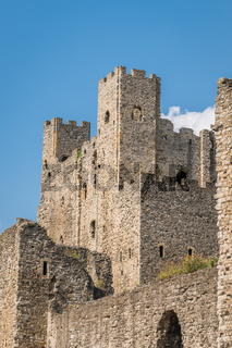 High tower of the Rochester Castle