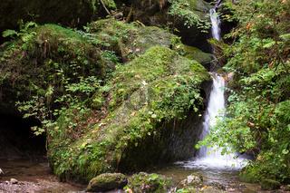 Bayrischer Wasserfall 001. Deutschland