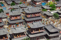 Model of old town in Luoyang City National Heritage Park - China