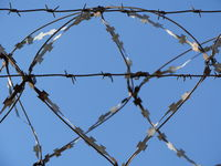 barbed wire razor wire