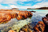 Beautiful rocky reefs to explore in Australia