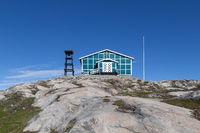 Naalakatta Illua Church in Ilulissat, Greenland