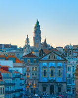 View Porto Old Town. Portugal