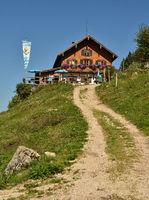 Hochgernhaus in den Chiemgauer Alpen