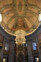Interior of Torre de Clerigos Church, Porto