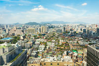 View Over Seoul