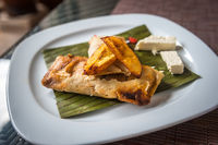 Tamales, traditional Mexican dish