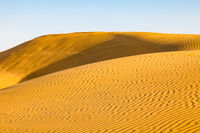 Desert sand dunes landscape