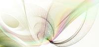 linien farbe wellen regenbogen banner