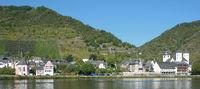 Weinort Treis-Karden an der Mosel,Rheinland-Pfalz,Deutschland