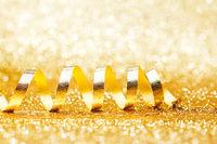 Curly golden serpentine