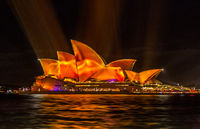 Vivid Sydney lights up the Opera House in vibrant colour and patterns