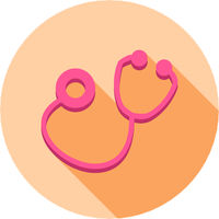 Doctors Stethoscope Icon Vector